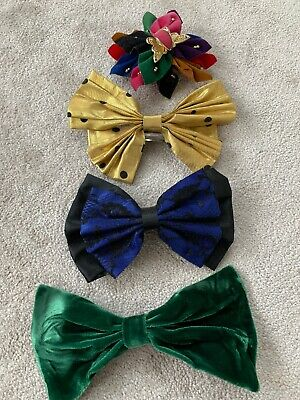 Vintage 80s 90s Hair Accessories Clips Slides Bows Lace Kitsch Retro Rockabilly • 9.50£