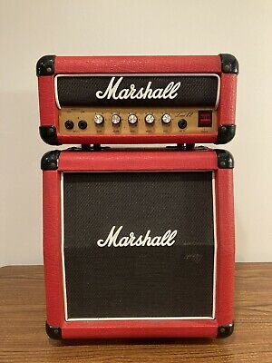 $ CDN1106.71 • Buy Vintage Marshall Mini Half Stack Red Lead 12 Amp