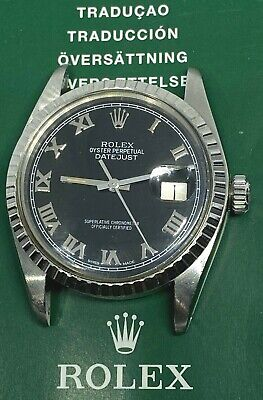 $ CDN5206.89 • Buy Rolex Vintage Datejust Black Men Watch  16030 Stainless Steel