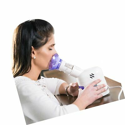 $58.99 • Buy MABIS Personal Steam Inhaler Vaporizer With Aromatherapy Diffuser, Purple And...
