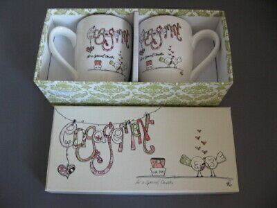 Engagement- Mugs- Present - Keep Sake - Boxed -Tracey Russell • 12£