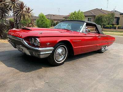 AU42100 • Buy Ford Thunderbird 1964 Convertible