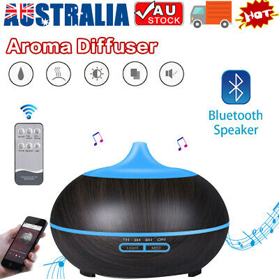 AU25.90 • Buy LED Essential Oil Humidifier Aroma Diffuser Purifier Air Aromatherapy Bluetooth