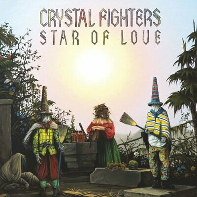 Crystal Fighters - Star Of Love - Crystal Fighters CD SILN The Cheap Fast Free • 20.98£