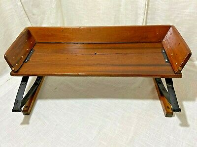$299.99 • Buy Vintage Horse Drawn Buckboard Carriage Buggy Wagon Sleigh Wooden Bench Seat