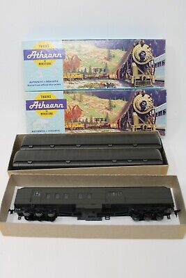 $ CDN58.90 • Buy LOT OF 3 HO Athearn Trains In Miniature OBSERVATION CAR 3X ALL DIFFERENT