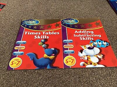 Learning Rewards Activity Books X2 Math Age 5-7 Years • 5.95£