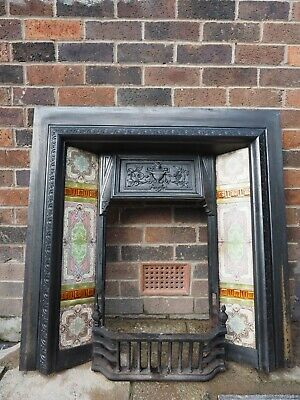 Victorian Style Cast Iron Fireplace • 25£