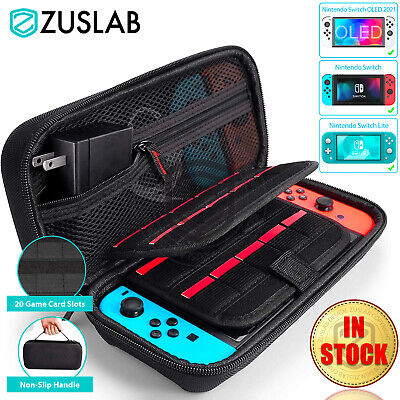 AU19.95 • Buy For Nintendo Switch Carrying Case Bag Storage Heavy Duty Shockproof Cover