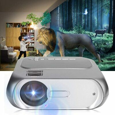LED HD 1080P 3D LED Home Theater Projector HDMI USB 6000 Lumens HD Home Cinema • 78.89£