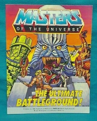 $89.95 • Buy Eternia The Ultimate Battleground Comic Book MOTU Masters Of The Universe He-Man