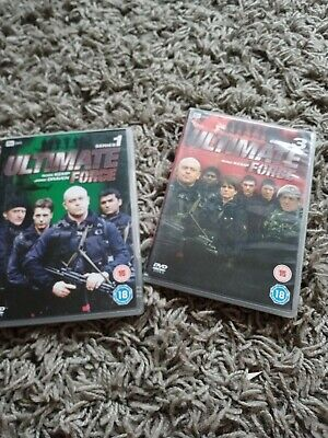 £2.99 • Buy Ultimate Force Series 1 And 3 Dvds