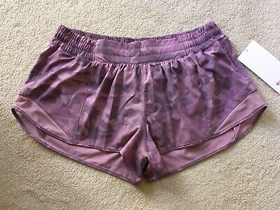 "$ CDN129.99 • Buy Lululemon Hotty Hot Short II 2.5"" Incognito Camo Pink Taupe 10 12 14"