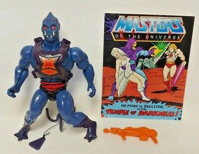 $89.99 • Buy Webstor MOTU He-Man Masters Of The Universe Complete Figure Comic Book Original