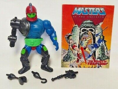 $89.99 • Buy Trap Jaw MOTU He-Man Masters Of The Universe Complete Figure Comic 3 Weapons !