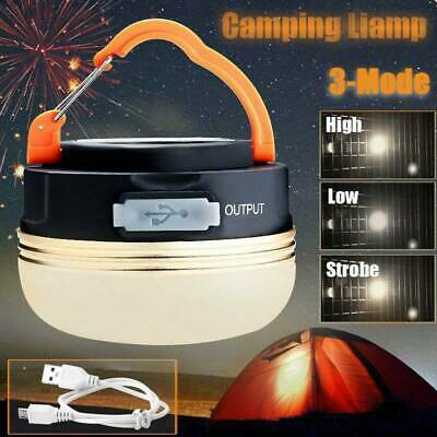 AU12.78 • Buy 5 LEDs Hiking Camping Tent Lantern Light USB Lamp Outdoor Rechargeable 180LM AUS