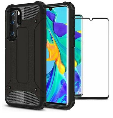 For Huawei P30 Pro New Edition Case Cover Heavy Duty Rugged & Glass Protector • 5.49£