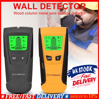 £13.21 • Buy Metal Wood Studs Electric Detector AC Voltage Live Wire Detect Wall Scanner UK