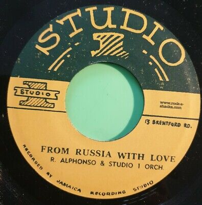 £16.95 • Buy Studio One From Russia With Love / Cleopatra. Roland Alphonso. 7