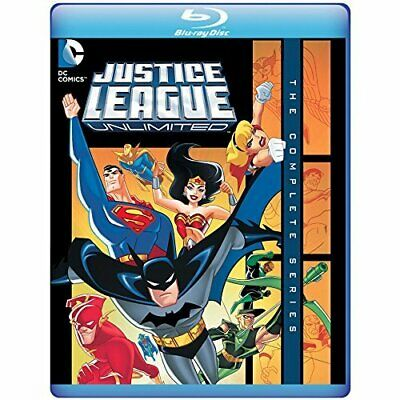 AU63.99 • Buy Justice League Unlimited: The Complete Series New Bluray