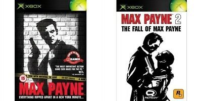Max Payne 1&2 And Mission Impossible - Operation Surma     Xbox   Pal  • 29.99£