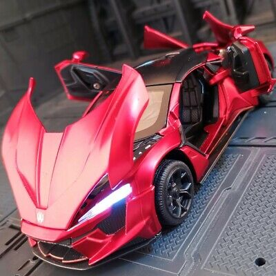 AU25.99 • Buy 1:32 Lykan Hypersport Car Model Fast And Furious Diecast Toy Collection Gift