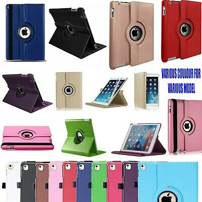£4.49 • Buy Case Cover For IPad 2/3/4 Mini Air 1/2 Leather 360 Degree Rotating Smart Stand