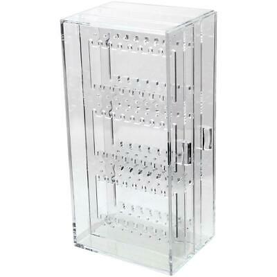 Clear Earring Drawer Organiser Stud Storage Display Stand Box Holder Jewellery • 7.95£