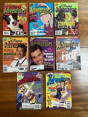 $29.99 • Buy Vintage Disney Adventures The Magazine For Kids 8 Issues 1997 Jan-May, Aug-Oct