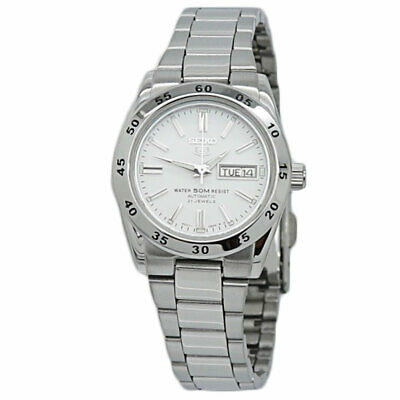 $ CDN142.73 • Buy Seiko 5 Automatic White Dial Stainless Steel Ladies Watch SYMG35