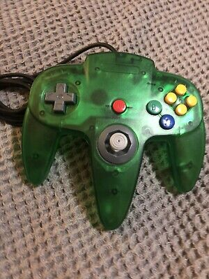 $ CDN33.25 • Buy Nintendo 64 N64 Controller Extreme Clear Green Great Condition Stick Rare
