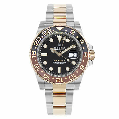 $ CDN24825.04 • Buy Rolex GMT-Master II 126711 Rootbeer Two Tone Rose Gold Steel Automatic Watch
