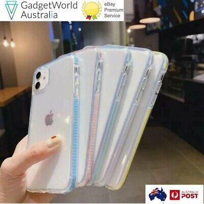AU12.99 • Buy For IPhone 12 PRO MAX MINI 11 SE2020/7/8 Slim Clear Soft Shockproof Bumper Case