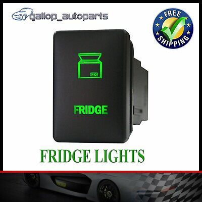 AU19 • Buy Green Fridge Light Bar Push Switch For Mitsubishi Triton MQ Pajero Sport Mirage