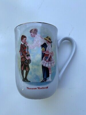 $ CDN11.49 • Buy VINTAGE 1986 Norman Rockwell THE FIRST DAY OF SCHOOL 4  MUG CUP, #s149K