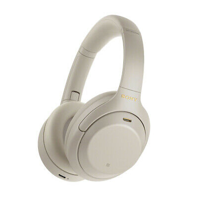 AU379 • Buy Sony WH-1000XM4 Wireless Noise Cancelling Headphones - Silver