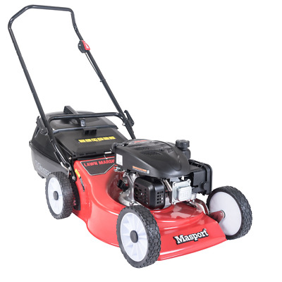 AU415.99 • Buy Push Lawn Mower 18  46cm Masport S18 Cut Catch Mulch Petrol 139cc 4Stroke Engine