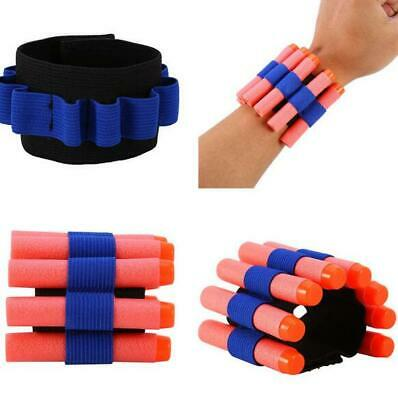 Nerf Bullet Wrist Band Ammo Holder Bandolier Ideal For Party Bags Tactical Elite • 4.49£