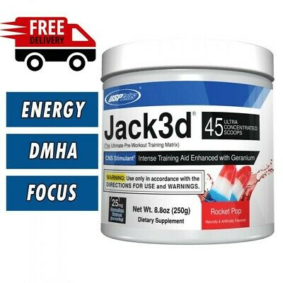 AU86.45 • Buy Pre-workout USP Jack Rocket Pop Fruit Punch Dragon Fruit 3d USA Version