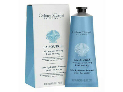 Crabtree & Evelyn  La Source Hand Therapy Hand Cream 100g New & Boxed • 16.85£