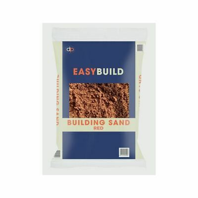 Red Building Sand, 25kg Trade Pack, By Deco-pak • 13.59£
