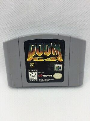 $ CDN41.50 • Buy Doom 64 (Nintendo 64, 1997) N64 Authentic Cartridge Only, Tested And Working!