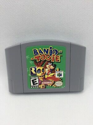 $ CDN57 • Buy Banjo-Tooie (Nintendo 64, 2000) N64 Authentic Game Cartridge Only - Tested!