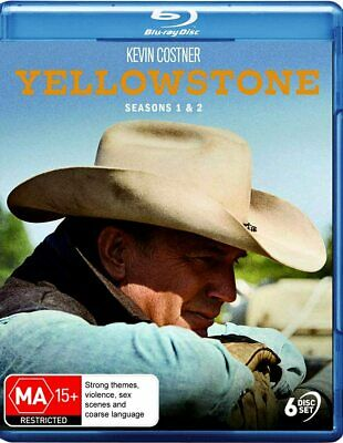 AU89.95 • Buy YELLOWSTONE 1+2 (2018-2019) Kevin Costner, Western Season Series Au RgB BLU-RAY