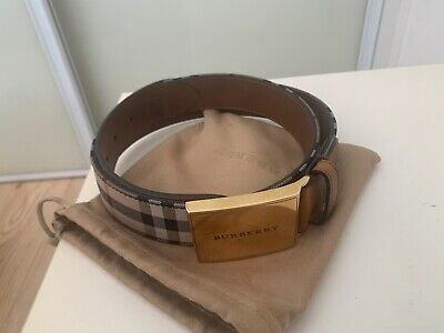 Burberry  Belt House Check  - 34-85 Brand New Never Worn • 200£