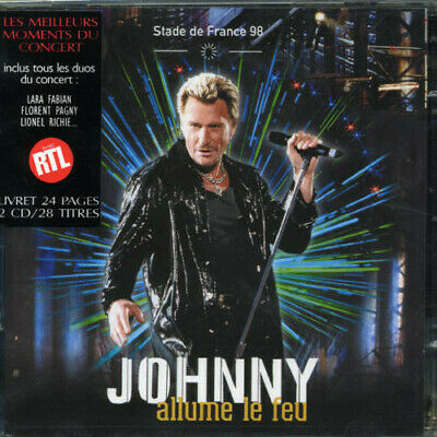 AU40.99 • Buy Johnny Hallyday - Stade De France 1998 (import) New Cd