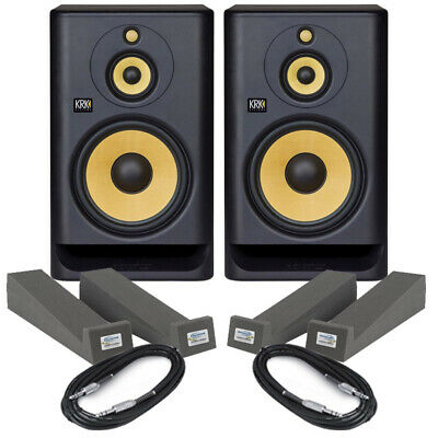 £813 • Buy KRK Rokit RP10-3 G4 (Pair) With Isolation Pads & Cables