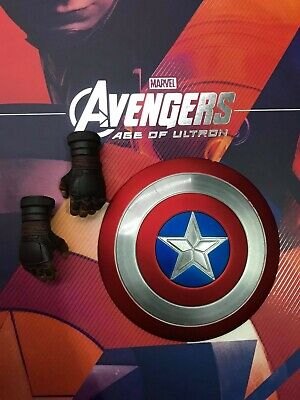 $ CDN100.22 • Buy 1/6 Hot Toys MMS281 Captain America Avengers Age Of Ultron Magnetic Shield