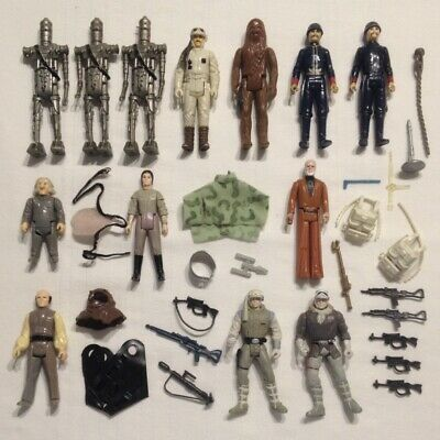 $ CDN33.37 • Buy Star Wars VINTAGE ACTION FIGURE LOT Kenner Palitoy Hasbro Weapons 1977 To 1990s