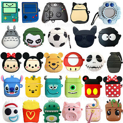 $ CDN6.59 • Buy Cute 3D Cartoon AirPods Silicone Case Protective Cover For Apple AirPod 2 3 Pro